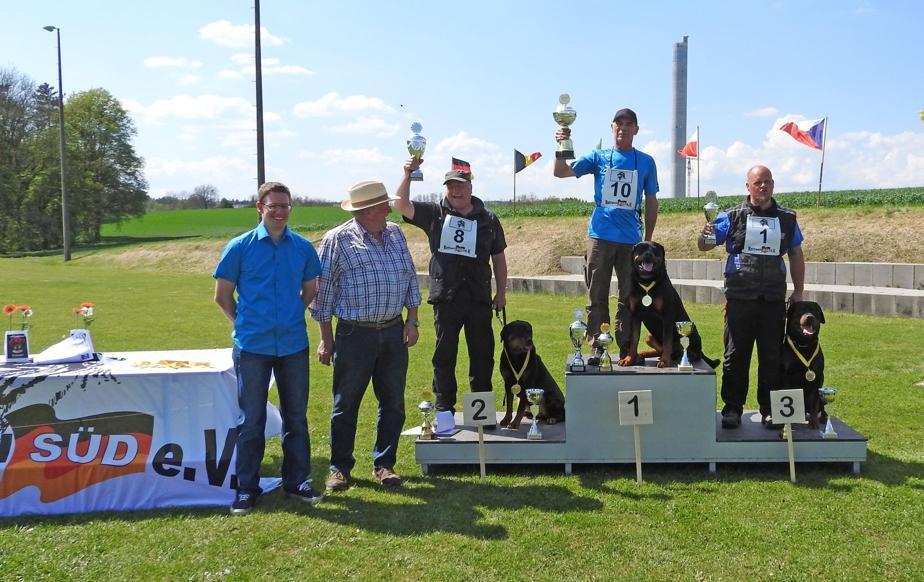 Siegerehrung 8. GP Rottweil 2016